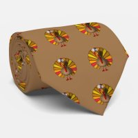 Thanksgiving Turkey Tie | Zazzle