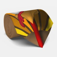 Thanksgiving Turkey Tie What's For Dinner? | Zazzle