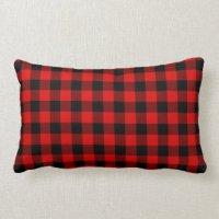 Red Buffalo Plaid Pillows