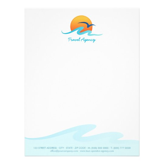 Crains New York Business Travel Agency Tourism Tour Operator Letterhead Zazzle