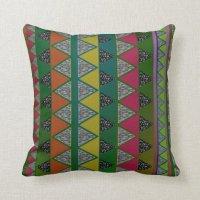 Tribal Print Pillow | Zazzle