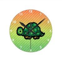 Tortoise Shell Wall Clocks | Zazzle
