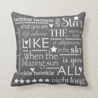 Words Pillows - Decorative & Throw Pillows | Zazzle