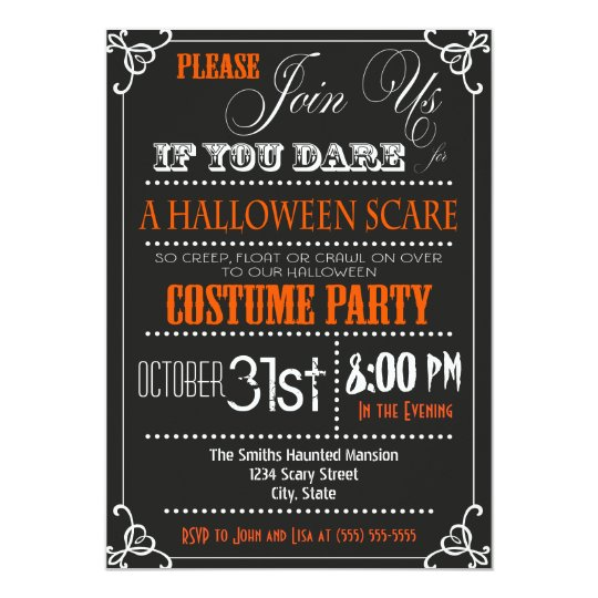 halloween party invites - Goalgoodwinmetals - halloween invitation