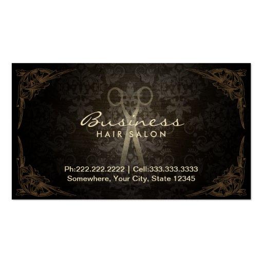 Hair Salon Business Cards Templates