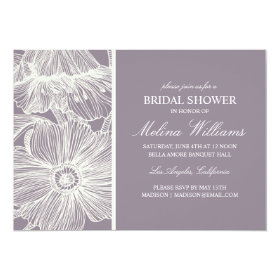 VINTAGE GARDEN | BRIDAL SHOWER INVITATION