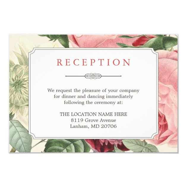 Wedding Reception Cards Mimoprints
