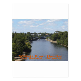 Waikato River, Hamilton Post Card