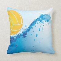 Water Polo throw pillow | Zazzle