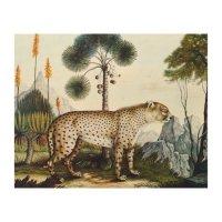 Watercolor of a Cheetah (Zotl) Wood Wall Decor | Zazzle