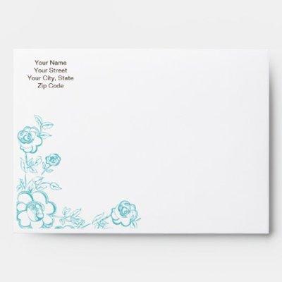 Wedding Invitation Envelope Templates ~ Matik for