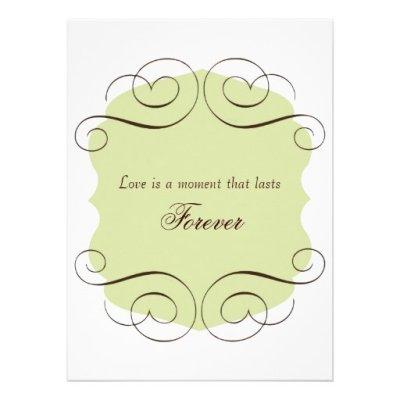 Love Quotes Wedding Invitations