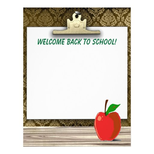 A Special Sparkle Back To School Welcome Letters Welcome Back To School Stationery Letterhead Zazzle