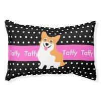 Welsh Corgi's Personalized Dog Bed Small Dog Bed   Zazzle