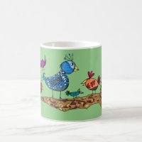 Whimsical Birds Mug | Zazzle