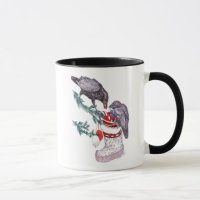 Whimsical Christmas Alaska Wildlife Coffee Mug | Zazzle