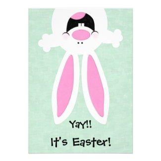 Yay! It's Easter! Easter Egg Hunt Invitation