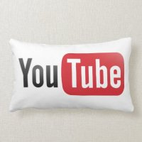 YouTube Pillow | Zazzle