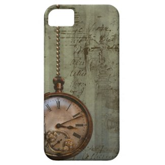 Steampunk Zeit Maschine iPhone 5 Barely There Universal Hülle