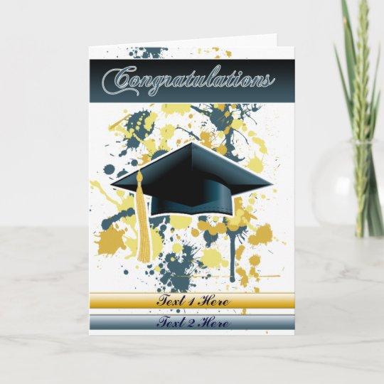 Tarjeta Graduación Zazzlees