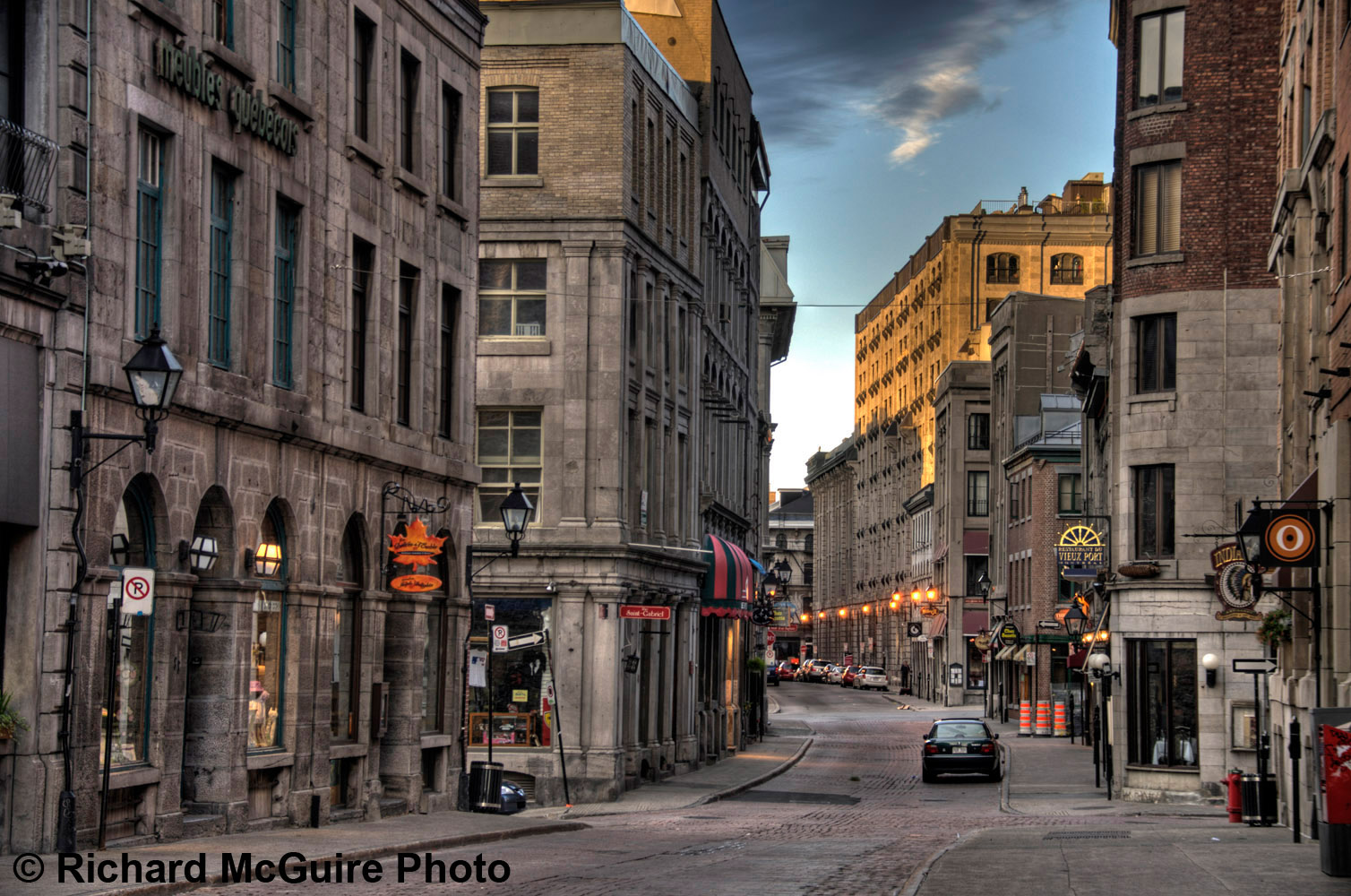 Old Montreal Montreal Richard Mcguire Photo