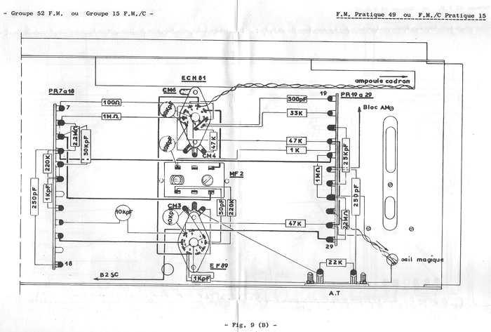 piezo schema cablage