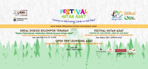 festival hutan adat RMI