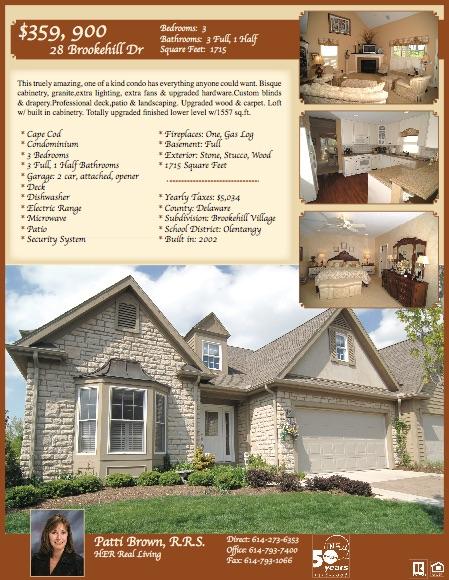 Real Estate Brochures R Middendorf Media, LLC