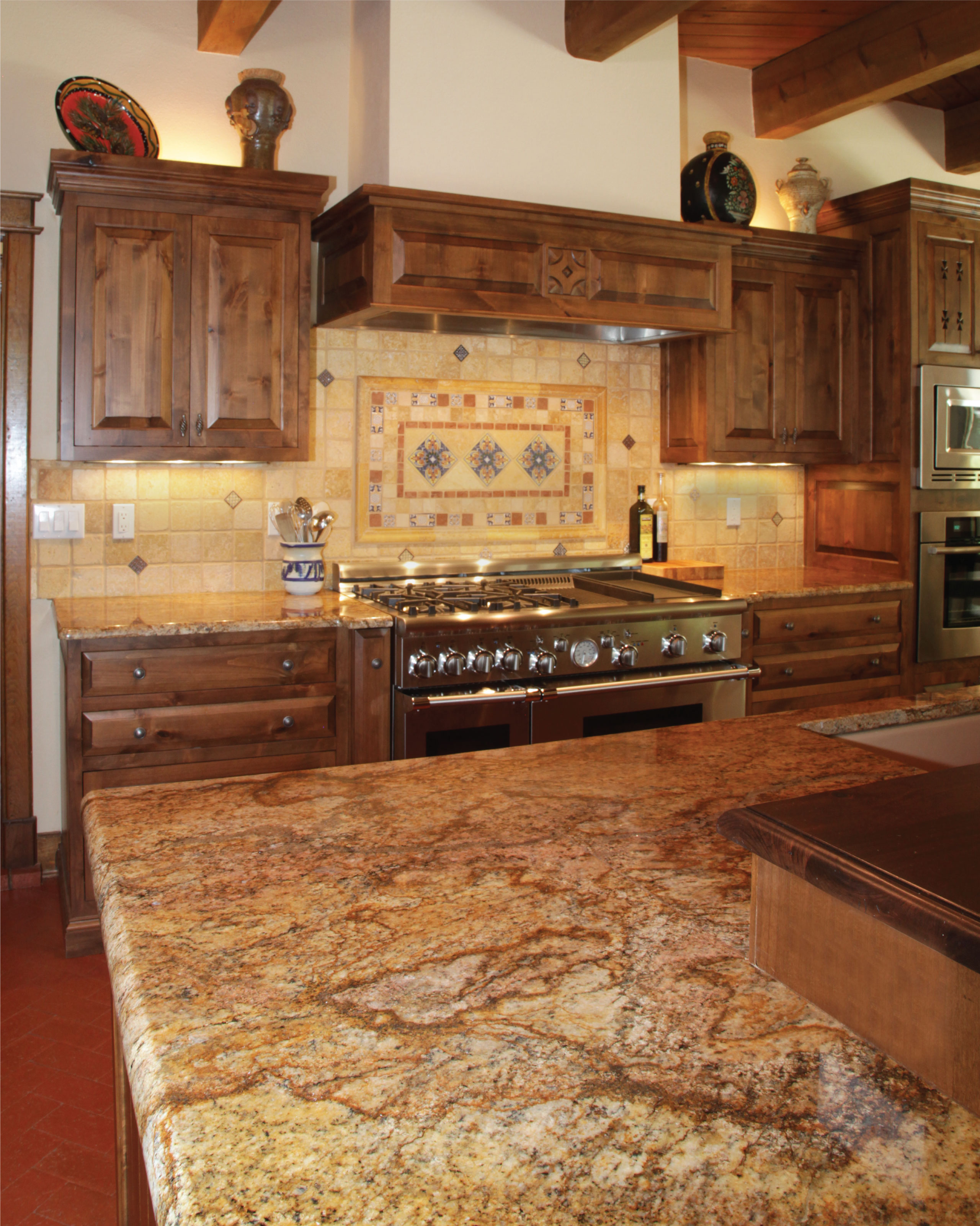 Copper Canyon Granite Countertops Featured Project Copper Canyon Granite Kitchen