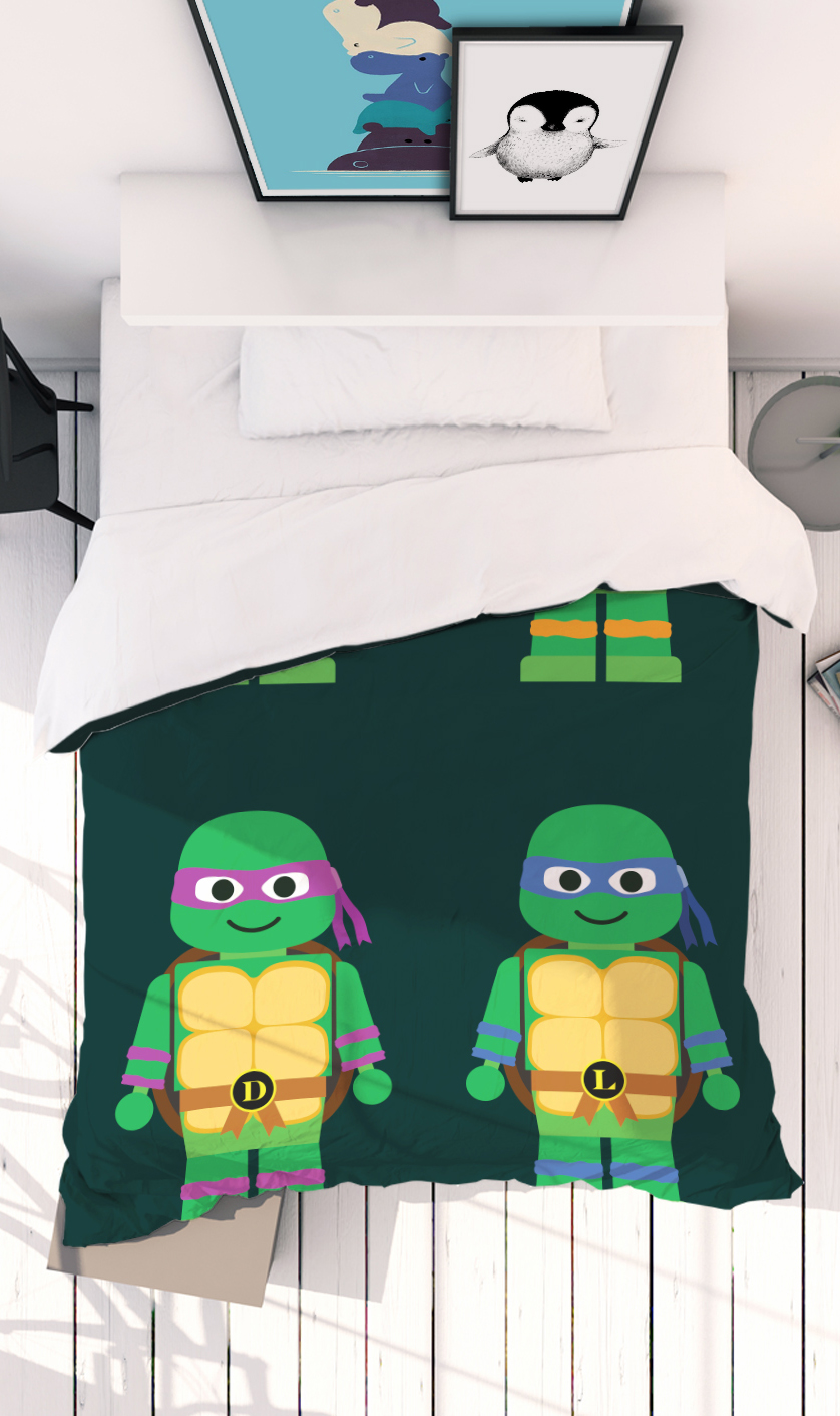 Teenage Mutant Ninja Turtles Kinderbettwäsche Juniqe