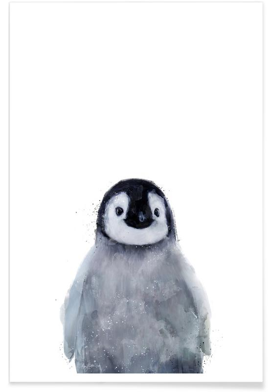 Juniqe Bilder Kleiner Pinguin-illustration Poster | Juniqe Ch