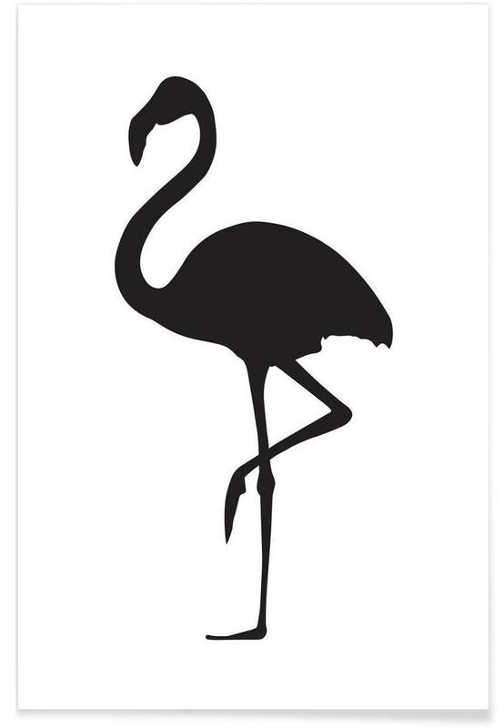 Bettwäsche Flamingo Flamingo Poster | Juniqe Ch