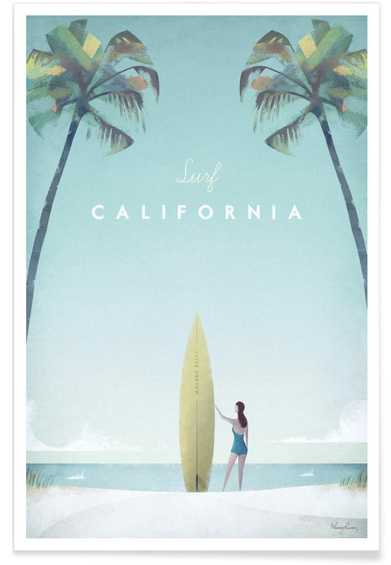 Junique De California Als Premium Poster Von Henry Rivers | Juniqe