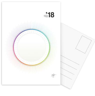 Circular Calendar 2018 as Premium Poster by Jonas Wyssen JUNIQE - circular calendar