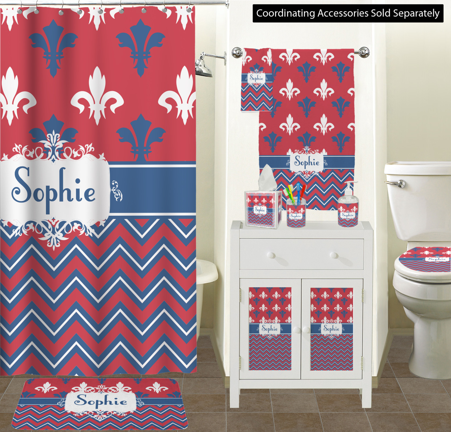 Fleur Di Lis Bathroom Patriotic Fleur De Lis Toilet Seat Decal Elongated