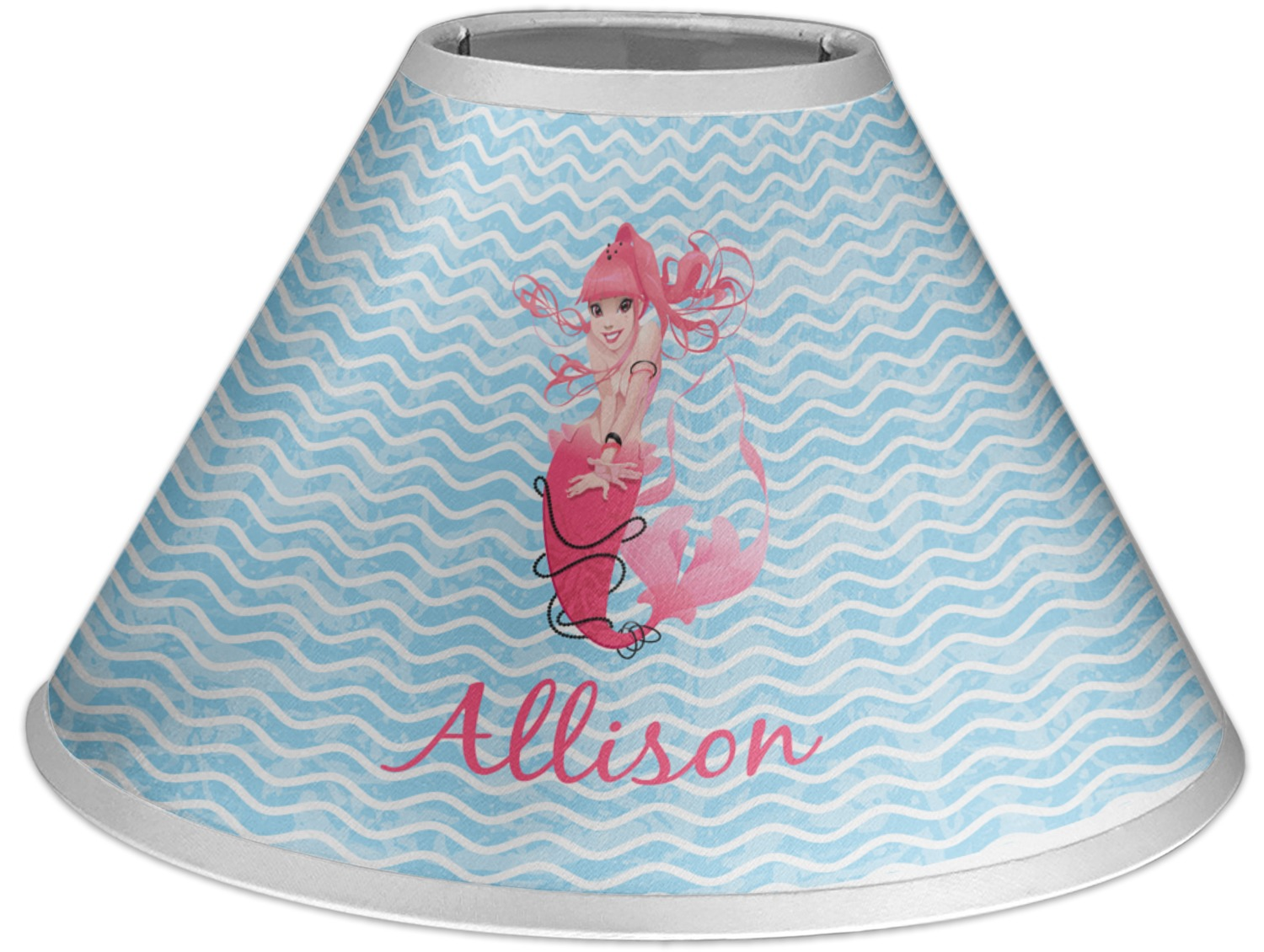 Mermaid Lamp Mermaid Coolie Lamp Shade Personalized Youcustomizeit