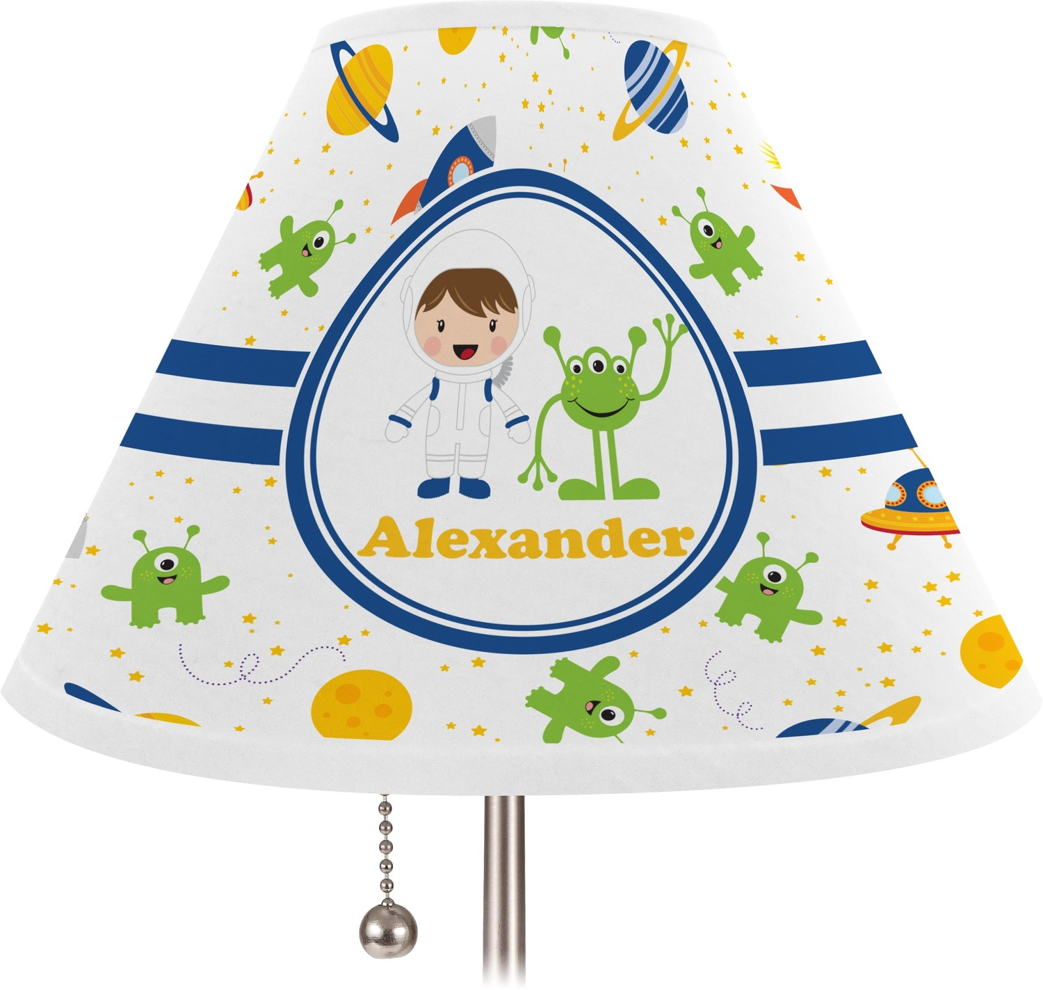 Space Themed Lamp Boy 39s Space Themed Lamp Shade Medium Personalized