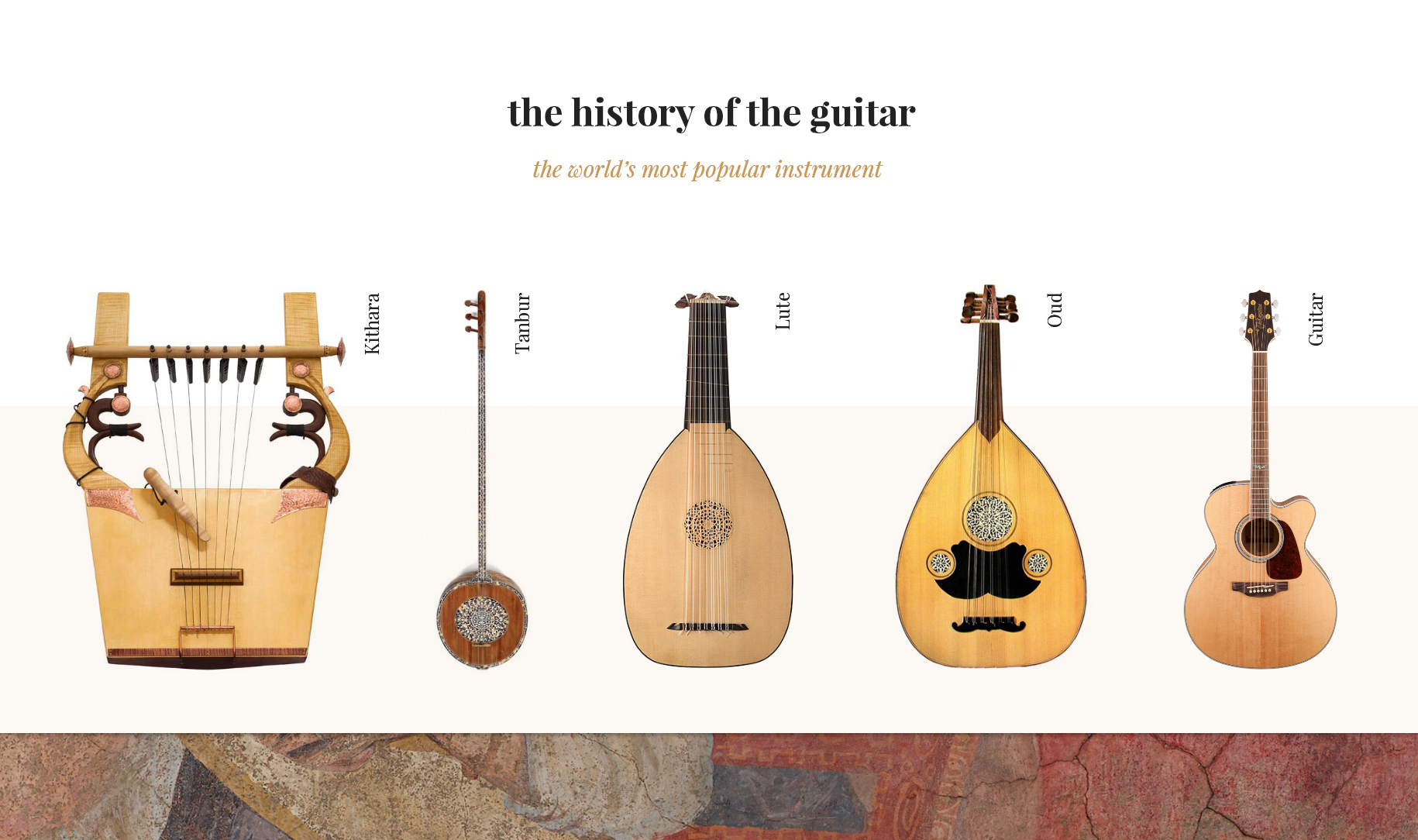 O History S The History Of The Guitar The World S Most Popular Instrument
