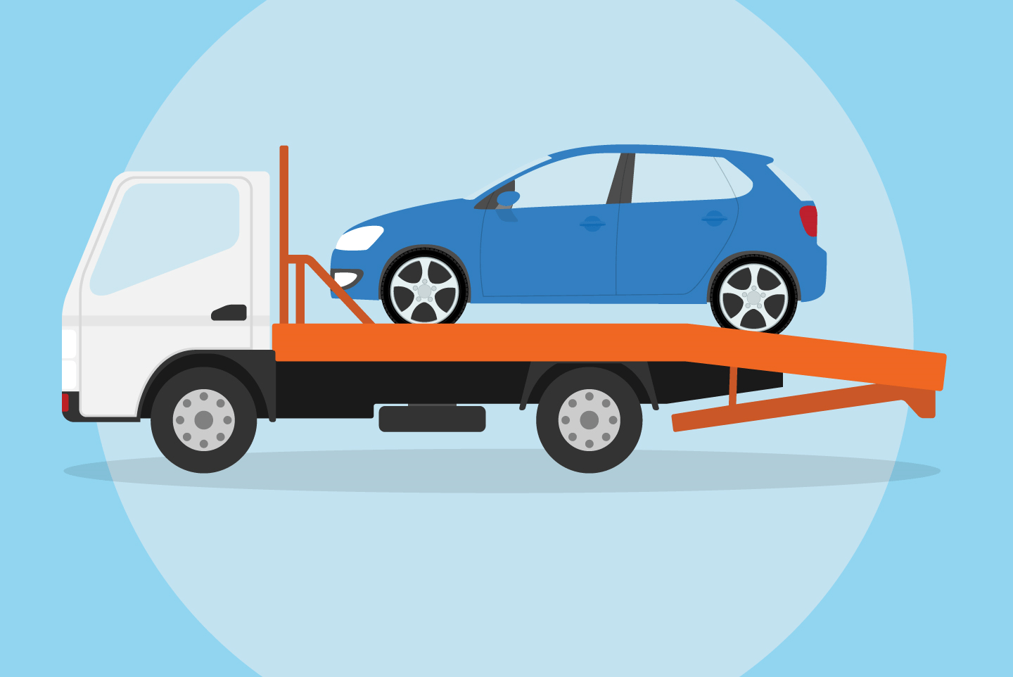 Tow Truck Car Repossession How It Works