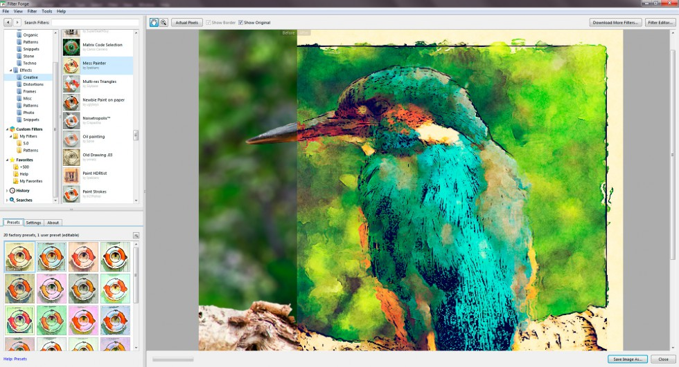 Filter Photoshop Filter Forge: This Plugin Will Change The Way You Use