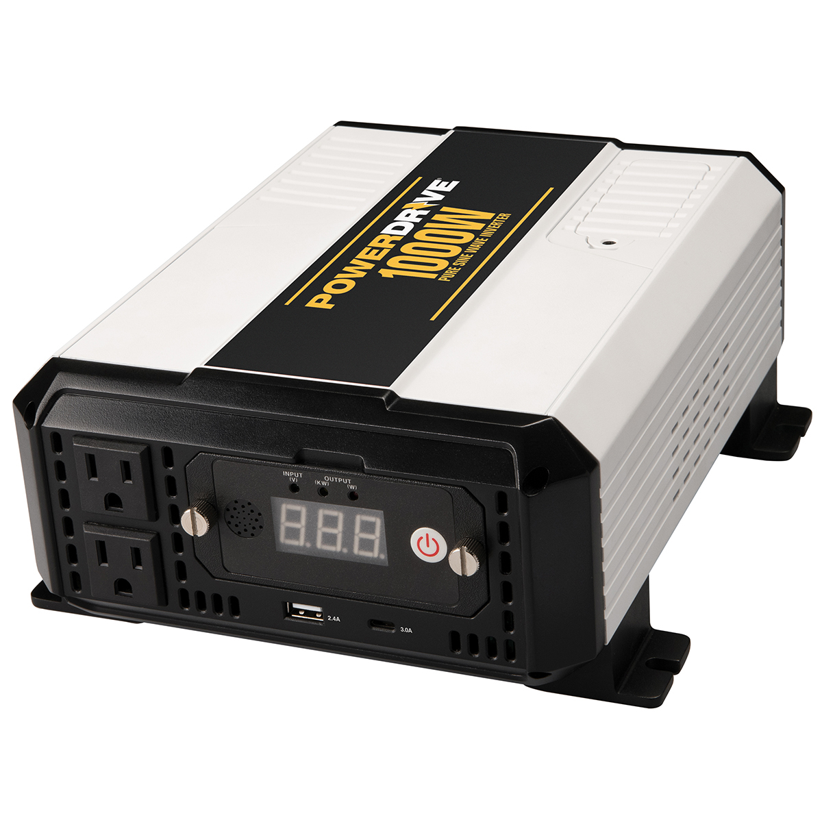 1000 Watt Pure Sine Wave Inverter Powerdrive 1000 Watt Pure Sine Wave Power Inverter