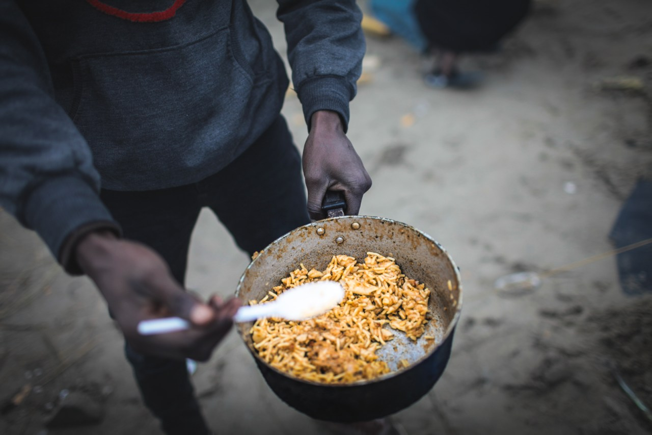 Some of the Many Breakfasts Consumed in a French RefugeeCamp