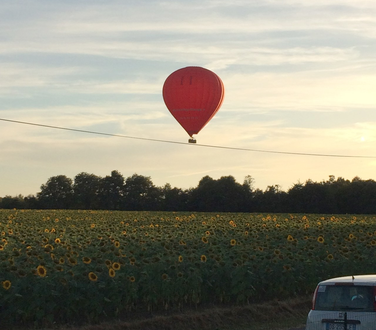It's Not a Party Without Unexpected Hot Air Balloons