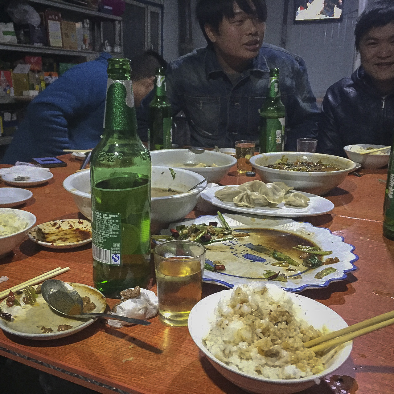 A Night of Grain Alcohol and Sichuan Noodles That Almost Never Happened At All