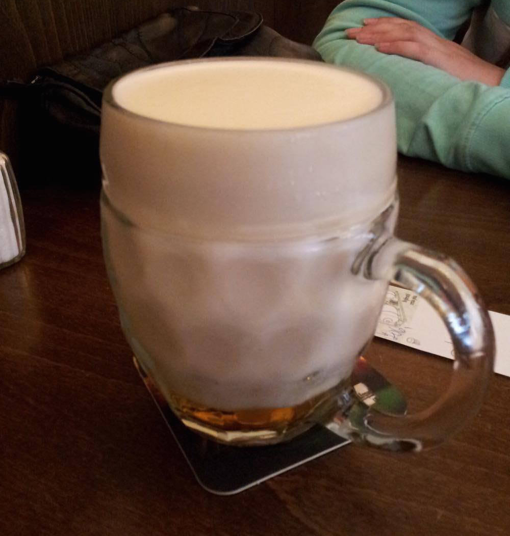 A Beer That Is Mostly Foam: Interesting Idea or Absolutely Not?