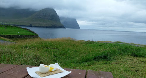 You Could Do Worse Than a Boiled Egg and a Sweet View