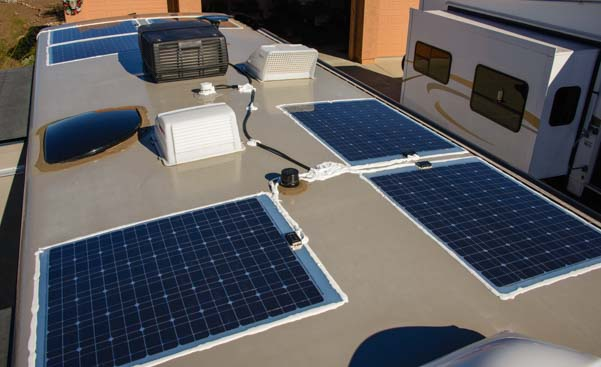 RV / Marine Battery Charging - Solar  Shore Power Combined!
