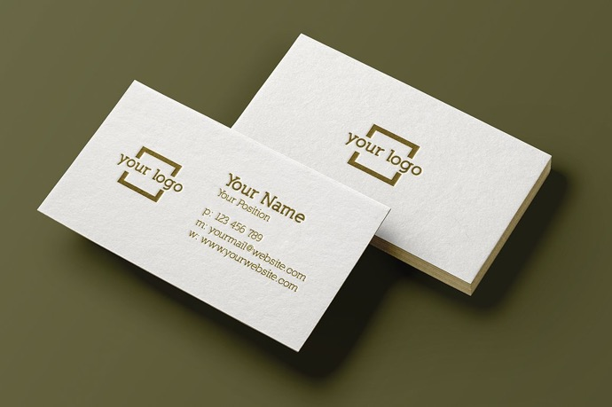 30+ Simple  Minimal Business Card Templates For 2019