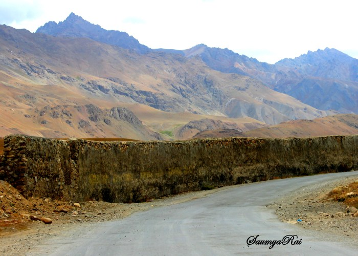 The wall made during the Kargil War