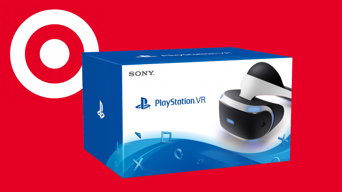Black Friday Sale Target S Black Friday Sale Sees 100 Off Playstation Vr 100 Off